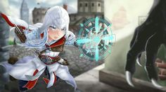 Credits to the artist on pixiv. Rwby and assassins creed crossover