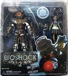 Bioshock 2 - Big Sister & Little Sister (Toys 'R Us Exclusive) Big Sister Little Sister, Little Sisters, Bioshock Rapture, Bioshock Game, Nerds Candy, Toys R Us, Predator, My World, Sideshow Collectibles