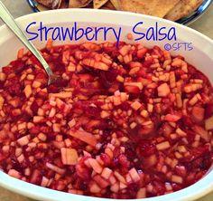 Strawberry salsa!