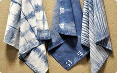 Traditional Indigo Shibori Basics - A Dharma Featured Tutorial