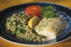 Tangy Baked Cod