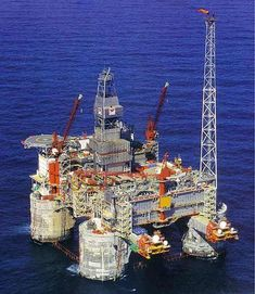 An oil rig is perfect if you can get to one. They're like a small city and endless fishing for all Energy Industry, Oil Industry, Oil Rig Jobs, Oil Platform, Drilling Rig, Crude Oil, Tug Boats, Oil And Gas, Rigs