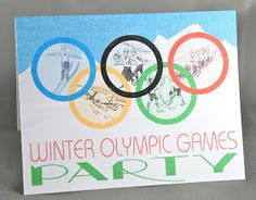 bnute productions: Party of the Month: Winter Olympics Party