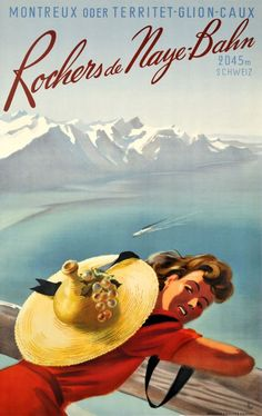 Rochers de Naye - Bahn 2045m Schweiz, Montreux - Territet - Glion - Caux