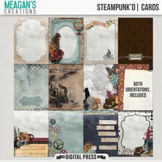 Steampunk'd | Cards