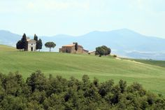 Tuscany Region, Italy - I would love to see this countryside from the seat of a bike