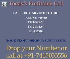 Are you investing in stock market or want to trade in mcx commodity market. http://www.tradtips.com