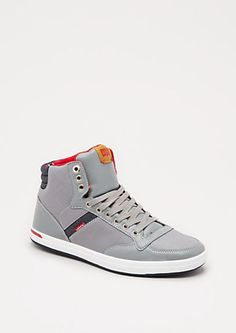 Gray High Top Sneaker by Levi's | rue21