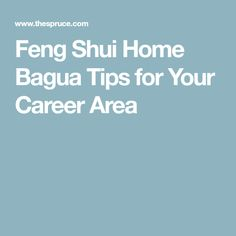 feng shui for job abroad