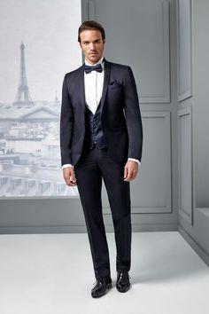 quelle tenue choisir pour son mariage lorsquon est un homme simple costume - Smoking Mariage Hugo Boss
