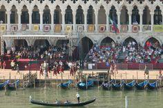 Tribuna d'Onore e Corteo Storico , Venezia domenica 7 giugno 2015