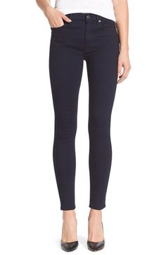 7 For All Mankind® 'Slim Illusion Luxe' Ankle Skinny Jeans (Medium Heritage) from @nordstrom