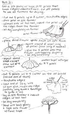 Gumpaste peony tutorial part 2