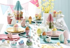 Easter dining by #bedbathntable #tabletop