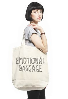 Emotional Baggage tote bag – Stay Home Club