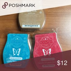 New Scentsy Bundle Lot of Three new Scentsy bars scents are Give me Passionflower & Christmas Cottage & Simply Vanilla You can also check out my website @ angela0774.scentsy.us for many great deals also shipped to your door Scentsy Other