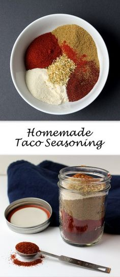 Homemade Taco Seasoning comes together in minutes with spice cabinet staples. Turn up or down the heat to your liking.