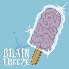 Brain Freeze illustration by Halo Sama. Buy shirts, leggings, cups, home decor, stickers and more in our shop!