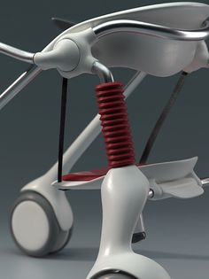 Leapfrog assisted walker by Donn Koh