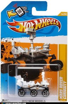2012 Hot Wheels New Models - Mars Rover Curiosity toy car Festa Hot Wheels, Hot Wheels Cars, Carros Hot Wheels, Curiosity Rover, Play Vehicles, Matchbox Cars, New Model, Vintage Toys, Diecast