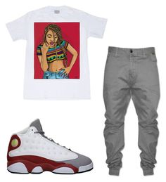 Designer Clothes, Shoes & Bags for Women Cute Tomboy Outfits, Swag Outfits, Stylish Outfits, Androgynous Style, Tomboy Style, Dope Fashion, Tomboy Fashion, Tomboys, Blue Nike