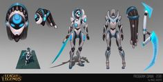 Diana skin concept