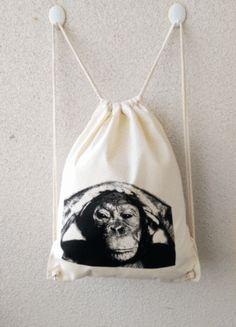 Kaufe meinen Artikel bei #Kleiderkreisel http://www.kleiderkreisel.de/accessoires/accessoires-sonstiges/128180056-turnbeutelrucksack-naturfarbend-motiv-ach-du-dickes-ei-hochwertiger-siebdruck