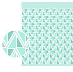 Triangular. Diseño Textil