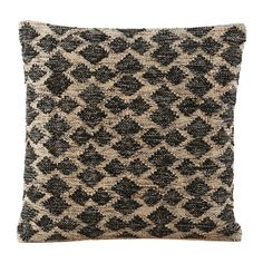 House Doctor Mila Housse de coussin en laine / coton - 50 x 50 cm - Image 1