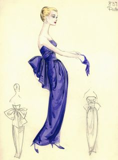 Bergdorf Goodman - fashion sketches