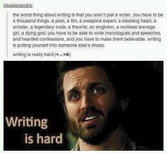 Not just a writer
