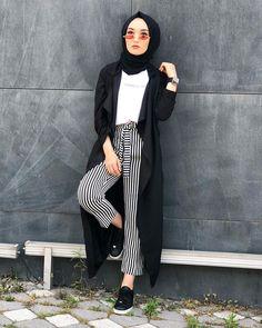 Street Hijab Fashion, Muslim Fashion, Work Fashion, Modest Fashion, Fashion Ideas, Muslim Girls, Muslim Women, Simple Indian Suits, Simple Hijab
