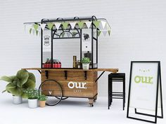 cart design for our coffee Kiosk Design, Cafe Design, Booth Design, Signage Design, Design Design, Graphic Design, Coffee Box, Coffee Stands, Coffee Carts