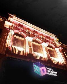Night Scene of Penang 3D Trick Art Museum