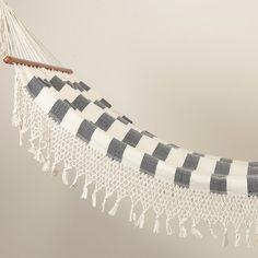 Tassled & Striped Hammock