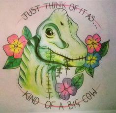 indominus-bad-ass:  Collection of amazing Dinosaur Tattoo Designs!  1. Scarlett_thanatos 2. + 3. ben.ayers.tattoo 4. dean_ctattoo Artist Images sourced from Instagram!