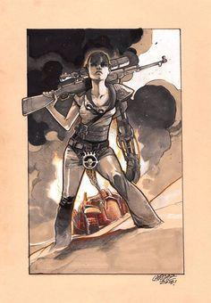 Mad Max: Fury Road - Furiosa by Pepe Larraz