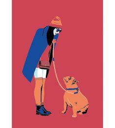 illustration laurence bentz dog 3.jpg - Laurence BENTZ | Virginie
