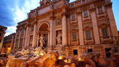 Trevi Fountain - honeymoon memories!