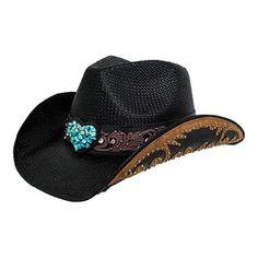 Peter Grimm Salona Cowboy Hat - Black Hats Cowboy Boot Store a246e53f40a3