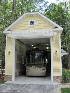 Pole barn carport google search outdoorparking camper for Rv port homes