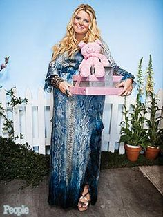Inside Jessica Simpson's Charlotte's Web-Themed Shower – Moms & Babies – Moms & Babies - People.com