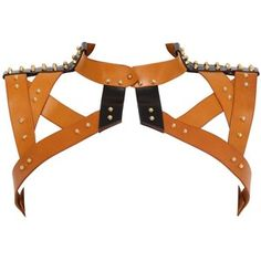 UNA BURKE LEATHER Simple Frame Leather Harness