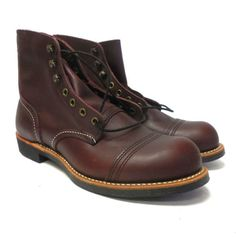 J5910-New-Men-039-s-Shoes-Red-Wing-Iron-Ranger-Oxblood-Boot-8-D
