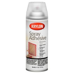 Strong, permanent bond makes this aerosol glue perfect for all your craft projects.