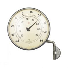 Zink swingarm outdoor thermometer // loveadorned.com