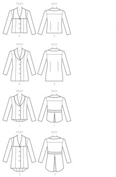 19 best sewing patterns images on pinterest factory design pattern Black Sweater Patterns patron mc call s 7288 mccall s 7288 patron de veste tailles 36 44 et 44 52 blazer patternwedding jacketsew