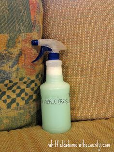 ~ Whitfield's Home ♥ In The Country ~: Make Your Own Fabric Freshener/Odor Eliminator
