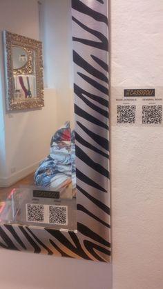 Zebra Mirror in Spazio PUNTO31
