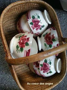 Belle chine : 11 bols mod�le cibon de chez digoin